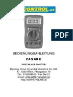 PAN 60B DE
