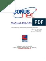 Manual de Uso BonusNet Ed.1.0