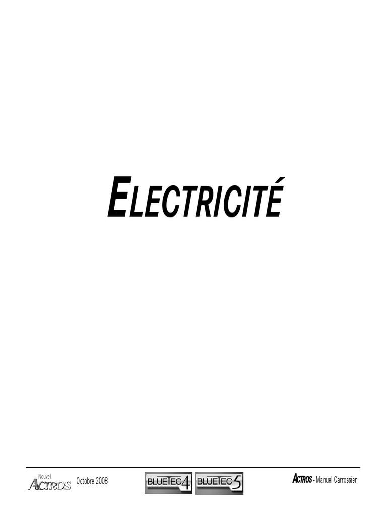 manual electrico mercedes benz aactros 2646