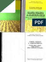 Cartea Tehnica a Agricultorului Cereale