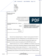 Overture Services, Inc. v. Google Inc. - Document No. 27