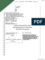 Overture Services, Inc. v. Google Inc. - Document No. 29