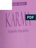 Karma:Misterele Reincarnarii-Louis Gosselin(CARTEA)