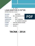 Difraccion de La Luz-lab