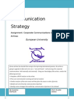 Communication Strategy Assignment