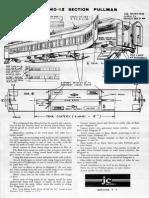 JC Models Silver Sides 12 Section Pullman Kit