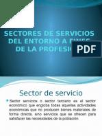 Sectores de Servicios Del Entorno a Fines De