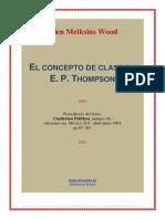 El.concepto.de.Clase.en.e.p.thompson
