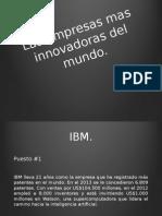 Empresas Innovadoras Del Mundo