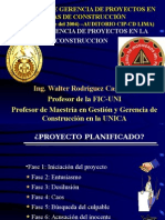 La Gerencia de Proyectos en Construccion Parte 1