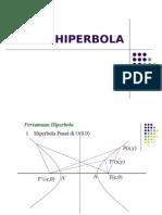 persamaan-hiperbola