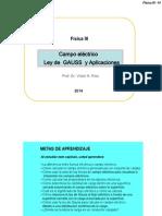 Clase3 Campo Eléctrico