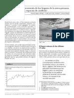 Minería y Economía de Los Hogares de La Sierra Peruana
