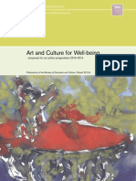 Art and Culture for Well Being