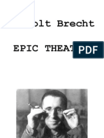 Brecht and Epic Theatre