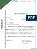 Perfect 10, Inc. v. Visa International Service Association et al - Document No. 17