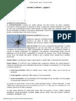 (Aranha) Acidentes Secretaria Da Saúde
