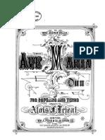 Lejeal Avemaria Duo pdf