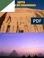 EGIPTO. El Origen Del Conocimiento