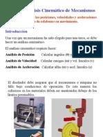 Unidad 2 Análisis Cinemático de Mecanismos