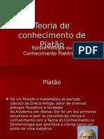 Teoria de Conhecimento de Platão
