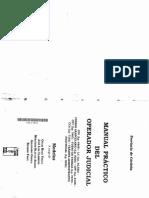 Manual Practico de Operador Judicial (340) 2001 LERNER