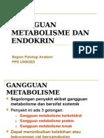 gangguan metabolisme