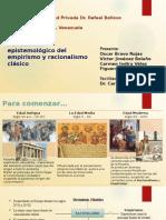 Presentacion Racionalismo y Empirismo