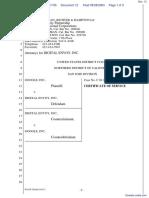 Digital Envoy Inc., v. Google Inc., - Document No. 12