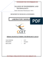 1.Manufaturing Technology Lab II