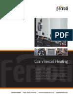 Ferroli Commercial Range Brochure