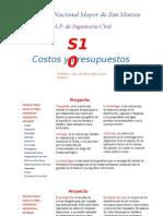 S10 Costos y Presupuestos Clase 1