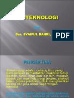 power poin kuliah Bioteknologi
