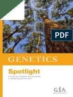 2014 GENETICS Spotlight
