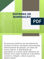 Apresentação1 Sistema de Numeração