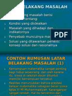 Present PTK Konsep Bab