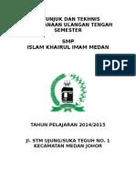 Petunjuk Dan Tekhnis UTS 2015