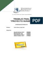 Creacion Producto SUNSET