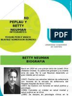 Betty Neuman Peplau Seminario