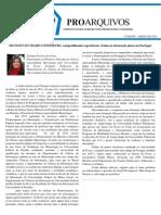 5 Edição - Jornal ProArquivos