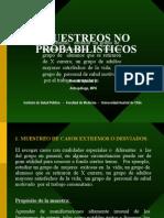 Muestreo No Probabilistico