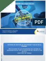 Aspectos Legales Decreto 1443 Del2014