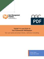 White Paper Togaf 9 Itil v3 Sept09