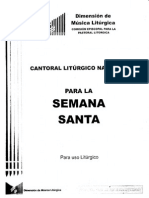 Cantoral Semana Santa