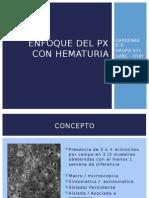 Enfoque Del Px Con Hematuria