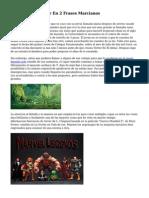 Historias De Terror En 2 Frases Marcianos