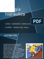 Energia Hidraulica - Montes Arias, Danny
