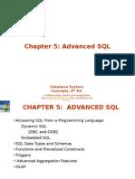 Advanced Database - Chap 5