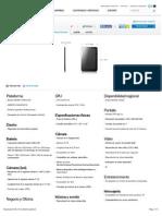 Especificaciones Samsung GalaxyTab