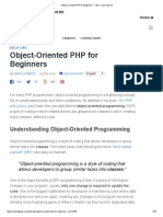 Object-Oriented PHP for Beginners - Tuts+ Code Tutorial